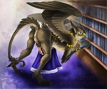 The Gryphon Pinup